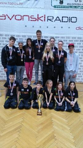 Tigar Karlovac - najbolji seniorski klub u Point Fightingu i 2. u Mlađim kadetima