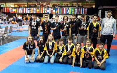 Tigrovi u Budimpešti osvojili 7 srebrnih i 4 brončane medalje
