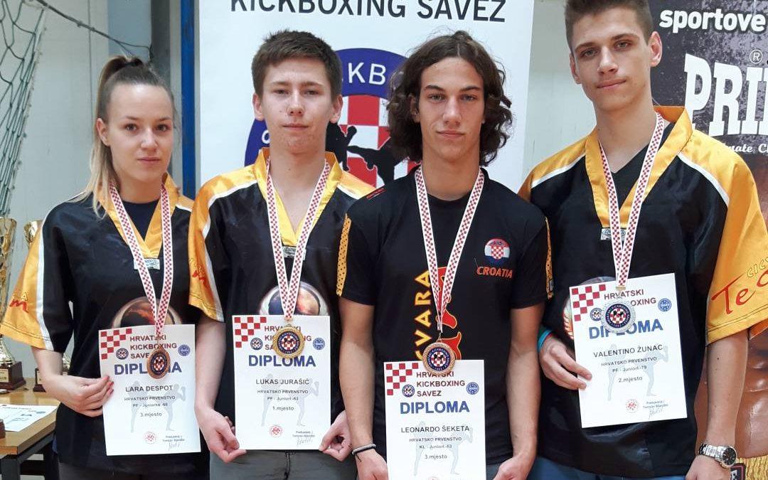 Tigrovi u Benkovcu na prvenstvu Hrvatske
