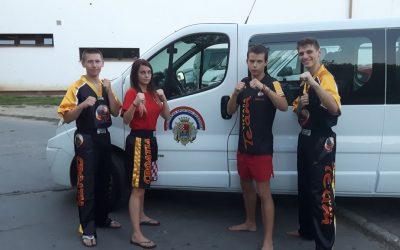 Lukas Jurašić, Valentino Žunac, Matko Živčić i Dominik Perošić uvršteni u sastav Hrvatske kickboxing reprezentacije za EP u Makedoniji