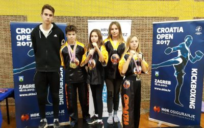 Lucas Radović zlatni a Ana Pranjić i Nika Radović brončani na Croatia Openu