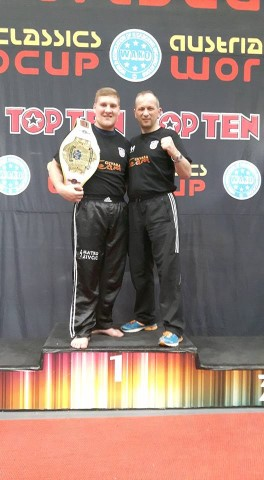 Matko Živčić i trener Zoran Cicvara - osvojen Svjetski kup Austrian Classic