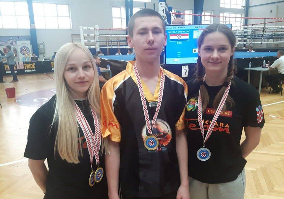 Tigar iznimno uspješan na seniorskom prvenstvu Hrvatske u Point fightingu i Light contactu
