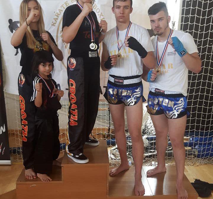 Tigrovima dva zlata, i tri srebra u Puli na međunarodnom turniru Adria Open 2019