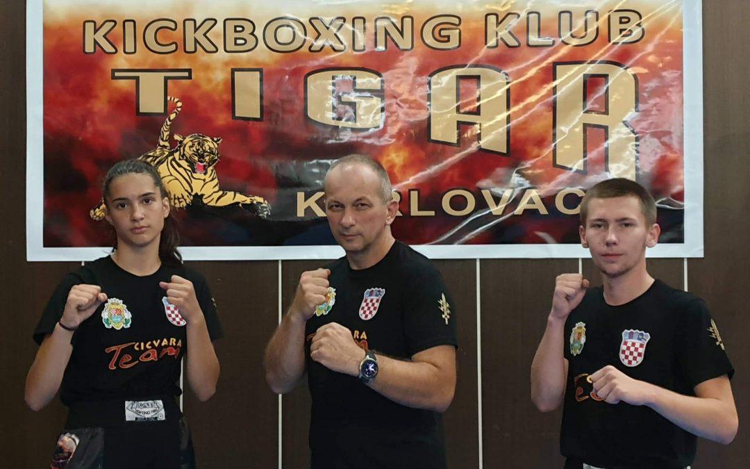 Lara Mihalić i Lukas Jurašić otputovali su u pratnji trenera Zorana Cicvare, na Europsko prvenstvo za kadete i juniore u mađarski Gyor !