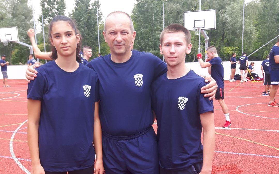 Lukas Jurašić i Lara Mihalić nastupili na Europskom prvenstvu u kickboxingu