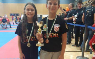 Tena Vučetić zlatna a Borna Vučetić brončani na Alpe Adria turniru u Gratkornu u Austriji