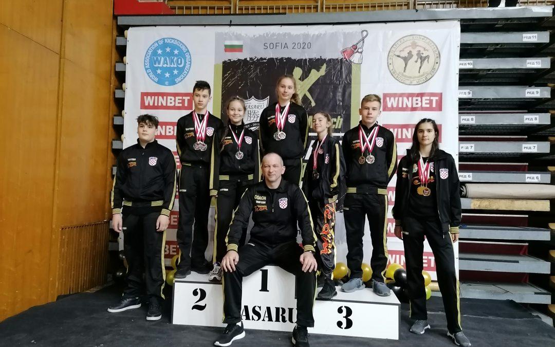 Tigrovi vrlo uspješni na međunarodnim turnirima u Zaboku i Sofiji