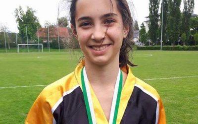 Lara Mihalić osvojila zlato na Hrvatskom Prvenstvu za juniorke u kickboxingu