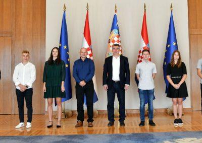 Tigrovi kod predsjednika Milanovića