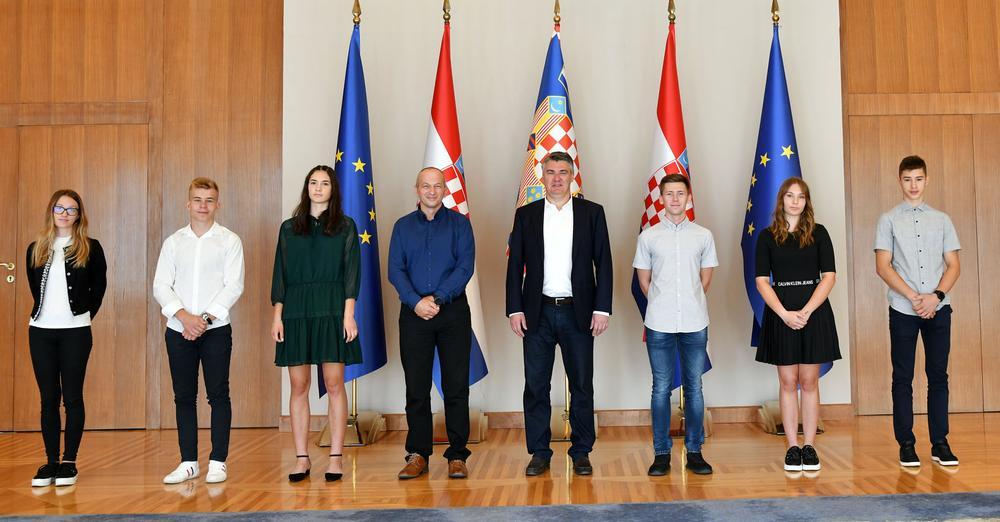 Tigar Karlovac na primanju kod Predsjednika RH